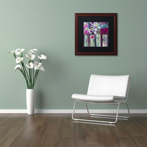 Trademark Fine Art Que Sera Sera Framed Wall Art