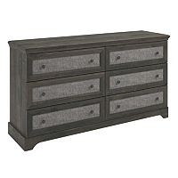 Altra Stone River 6-Drawer Dresser