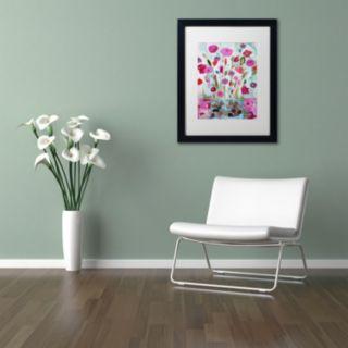 Trademark Fine Art Solstice Booms Matted Framed Wall Art
