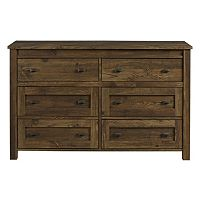 Altra Farmington 6-Drawer Dresser