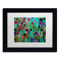 Trademark Fine Art Time To Bloom Matted Framed Wall Art