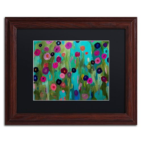 Trademark Fine Art Time To Bloom Framed Wall Art