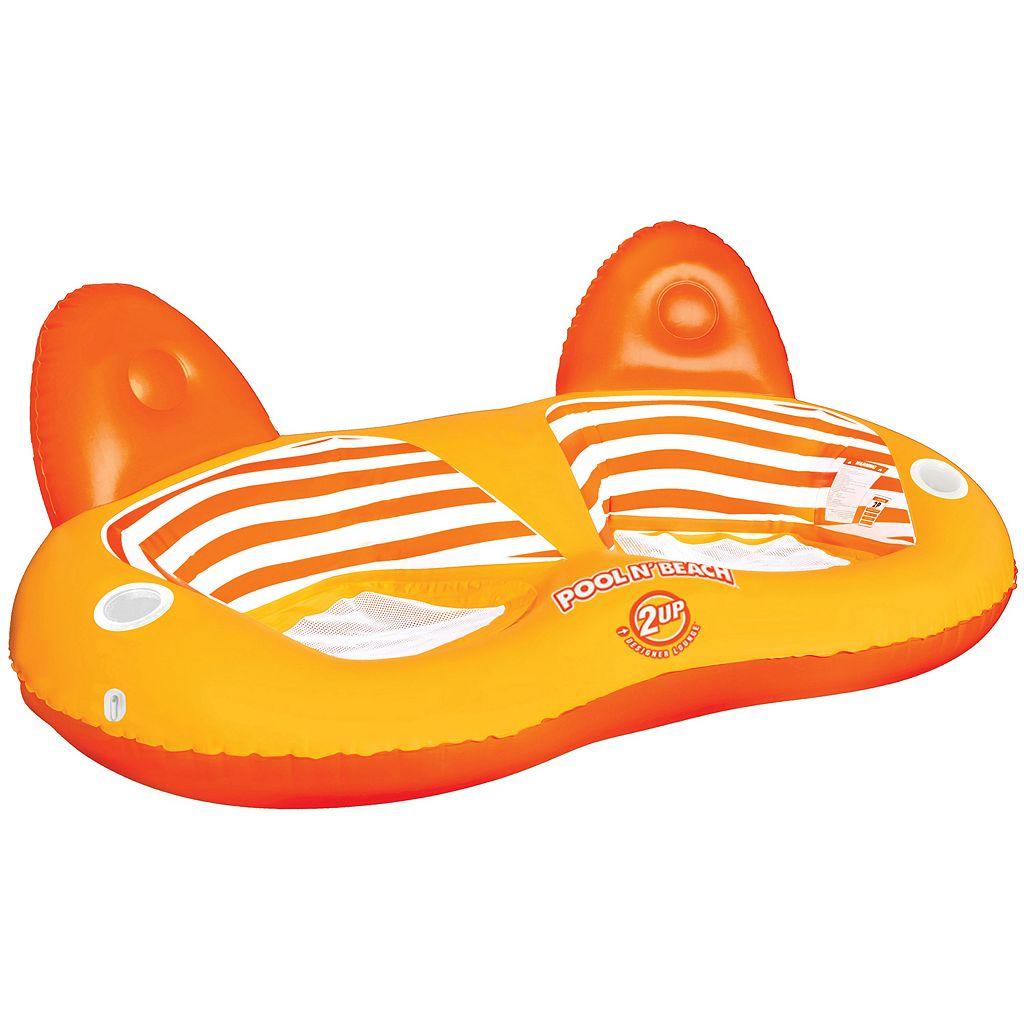 Sportstuff Pool N' Beach 2UP Inflatable Lounge Float