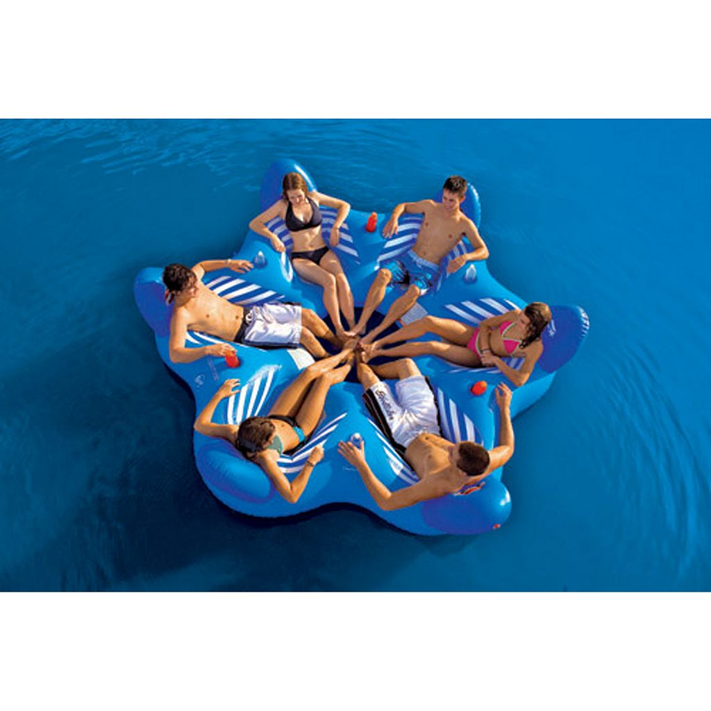 Sportstuff Pool N' Beach 6UP Inflatable Lounge Float