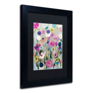 Trademark Fine Art Too Pretty To Pick Matted Framed Wall Art