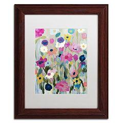 Trademark Fine Art Too Pretty To Pick Framed Wall Art
