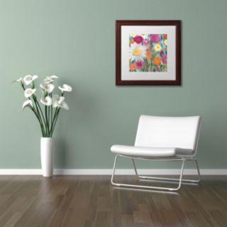Trademark Fine Art Earth At Daybreak Framed Wall Art