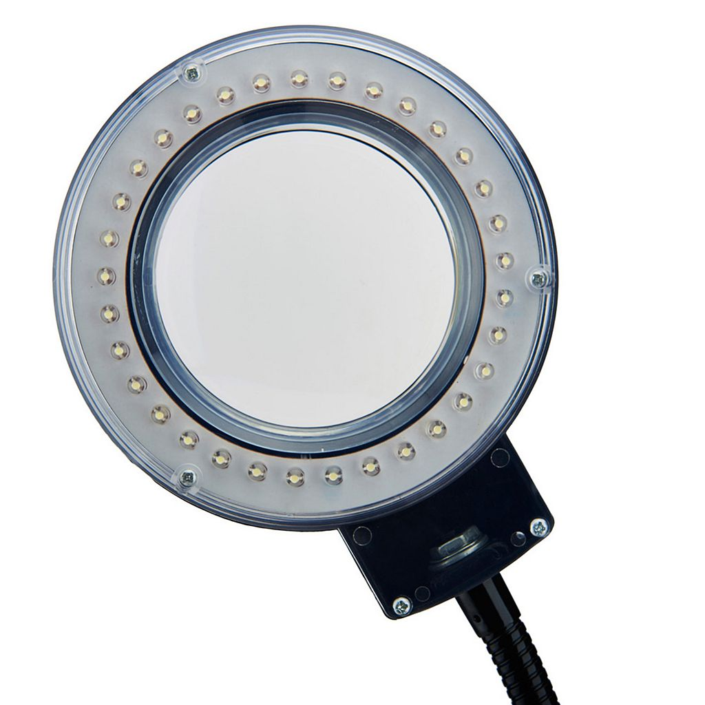 Tensor Clip-on Magnifying LED Reading Desk Lamp