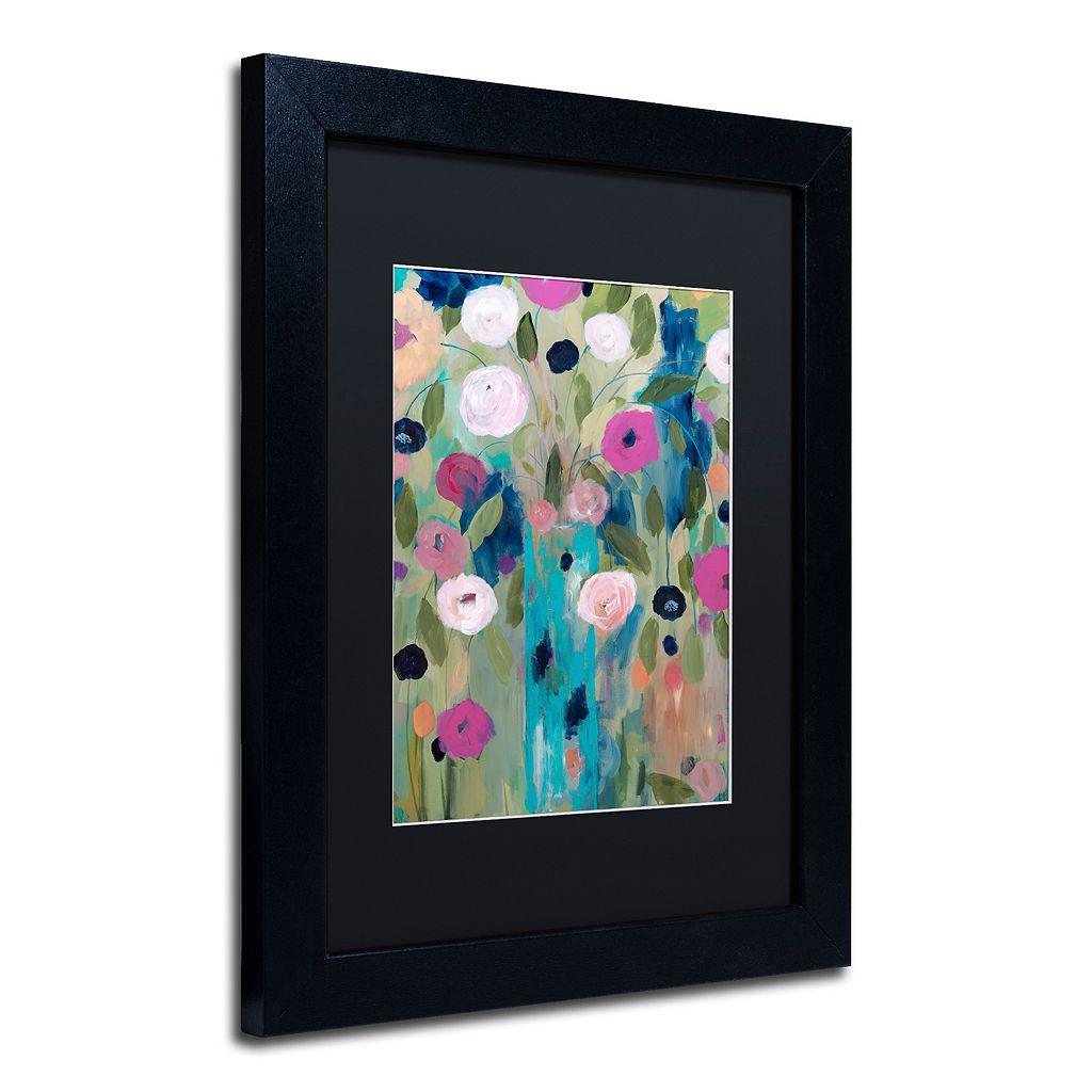 Trademark Fine Art Entwined Matted Framed Wall Art