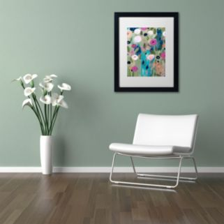 Trademark Fine Art Entwined Matted Framed Wall Art