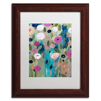 Trademark Fine Art Entwined Framed Wall Art