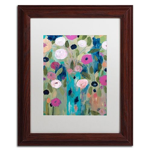 Trademark Fine Art Entwined Framed Wall Art