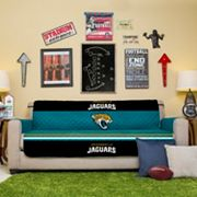 Jacksonville Jaguars Quilted Sofa Cover