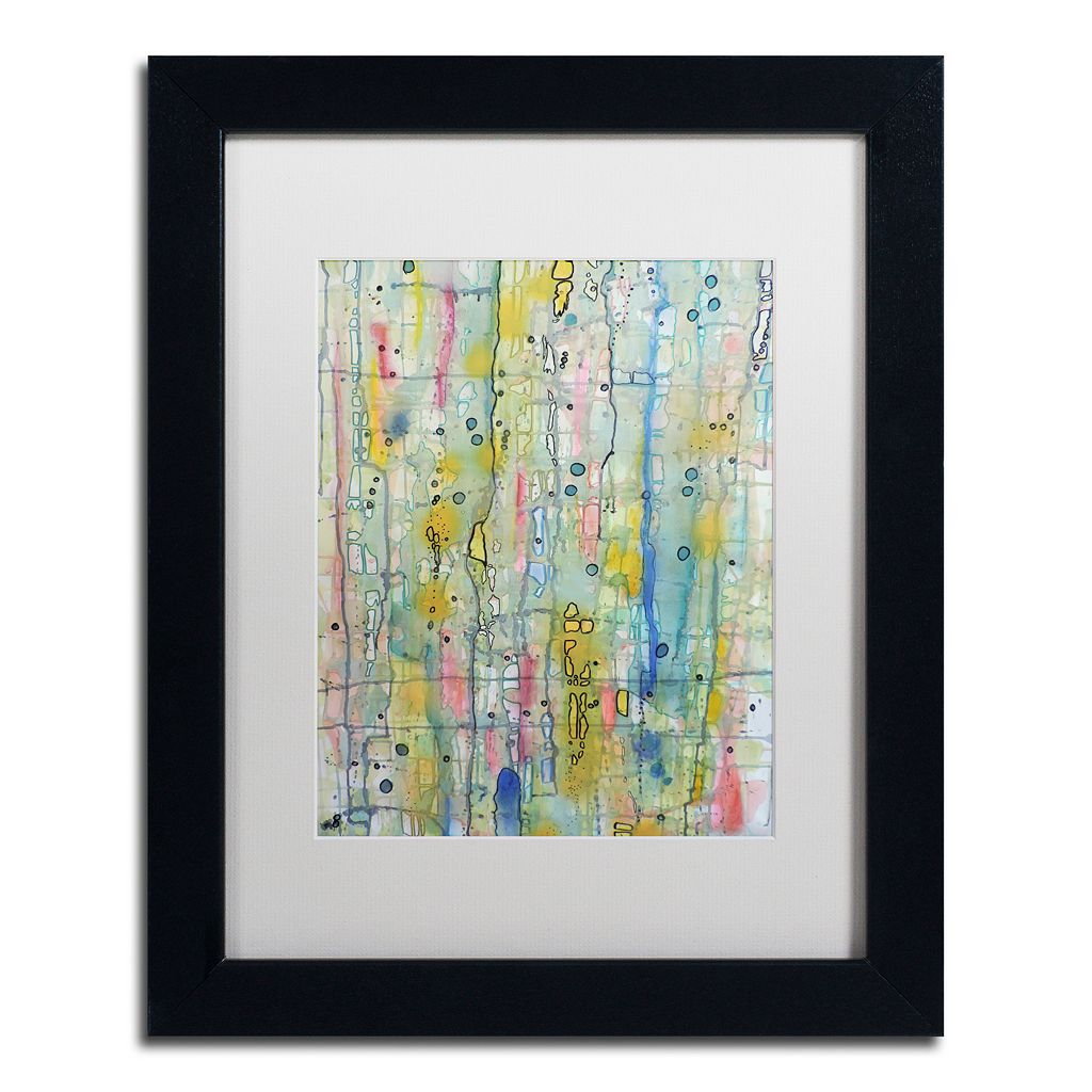Trademark Fine Art Air du Temps 1 Framed Wall Art