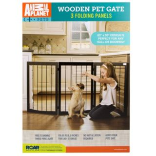 Animal Planet Wooden Pet Gate