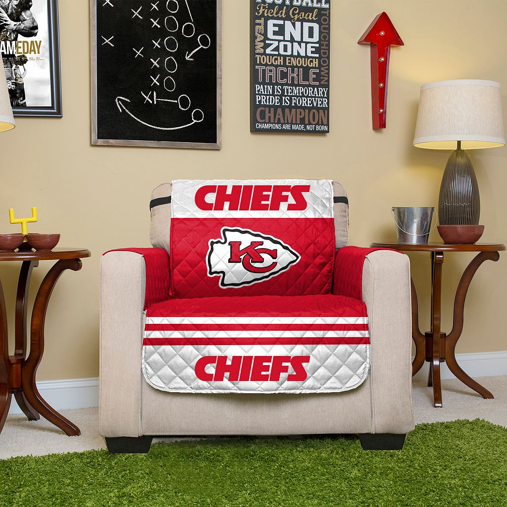 Kansas City Chiefs Quilted Chair Cover