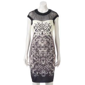Women's Jax Faded Scroll Sheath Dress