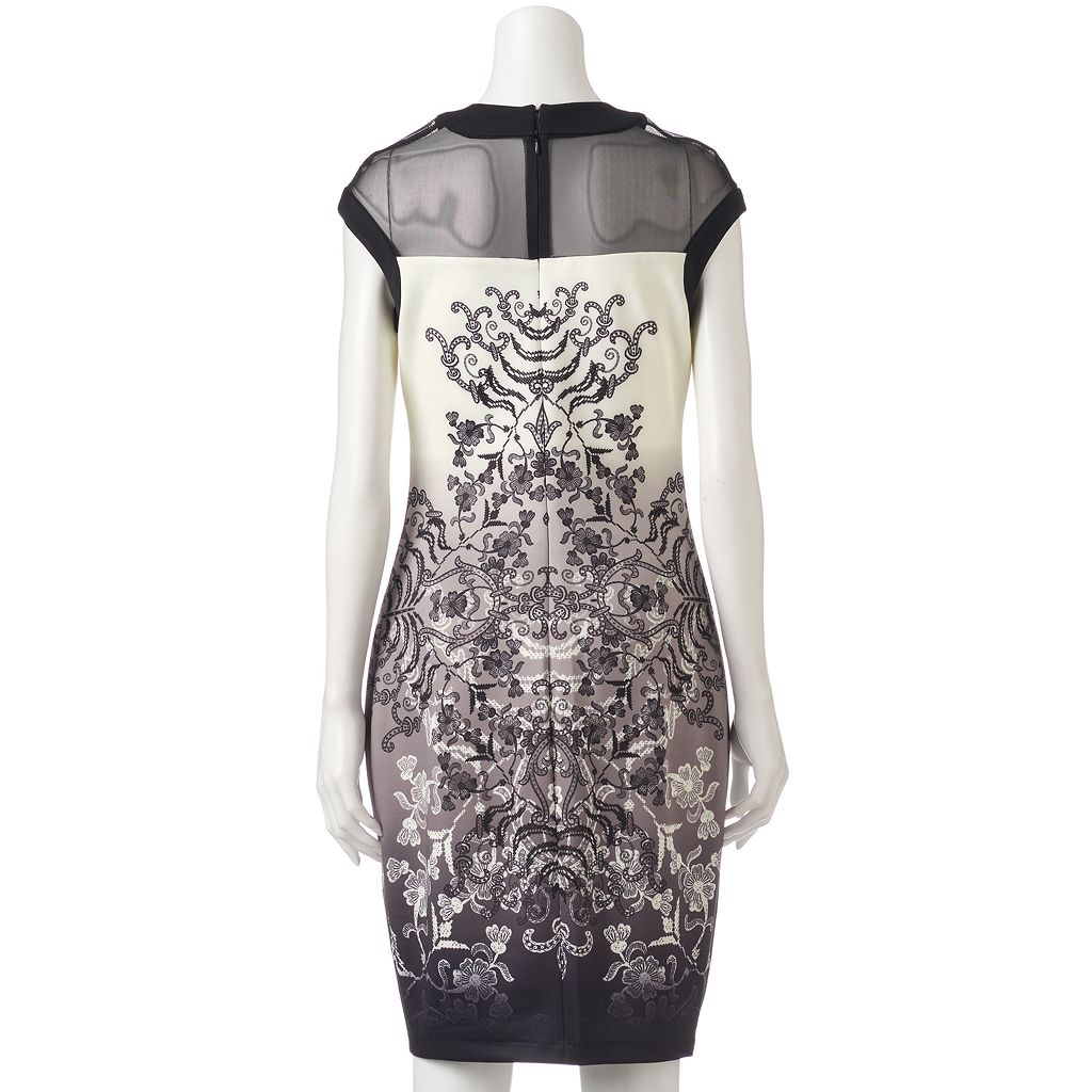 Women's Jax Faded Scroll Sheath Dress