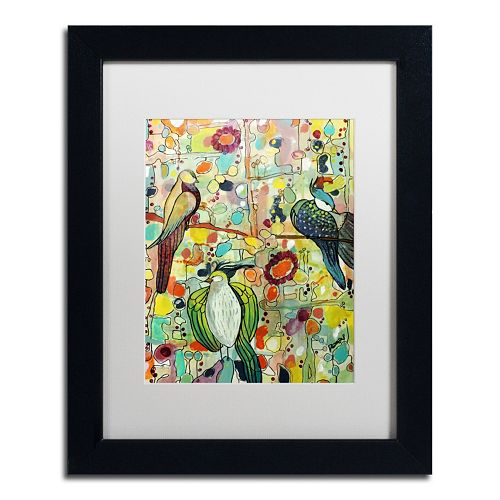 Trademark Fine Art Assemble Matted Framed Wall Art