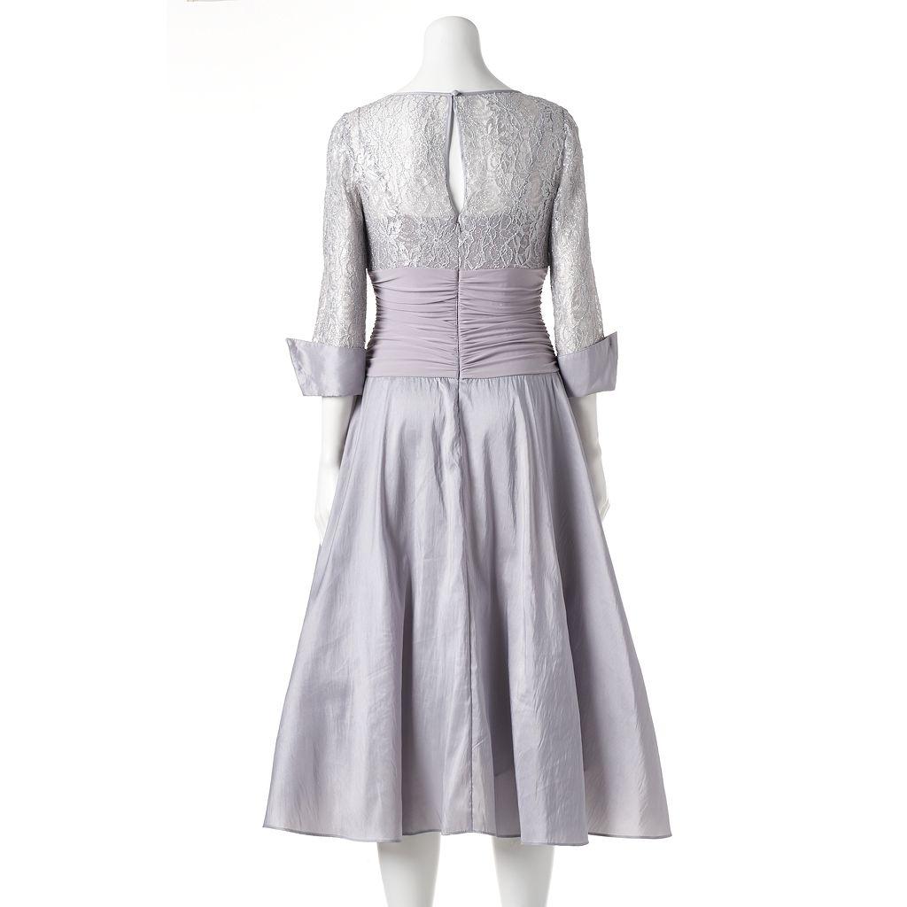 Women's Jessica Howard Glitter Lace Evening Dress