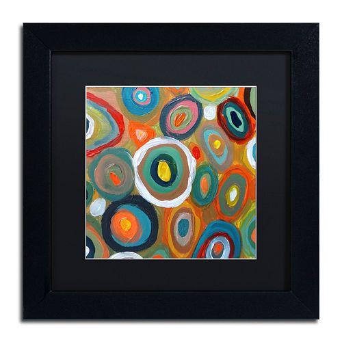 Trademark Fine Art Carisma Matted Framed Wall Art