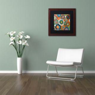 Trademark Fine Art Carisma Framed Wall Art