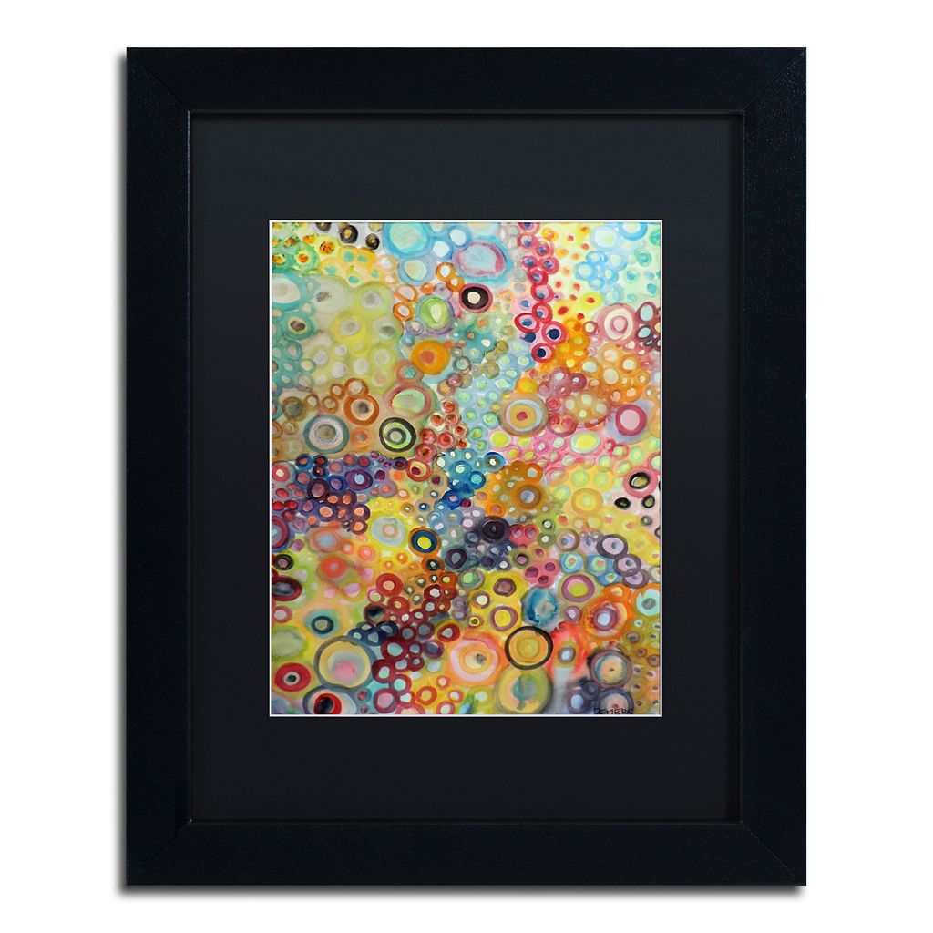 Trademark Fine Art Cellulaires Matted Framed Wall Art