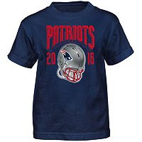 Boys 4-7 New England Patriots Strength of Schedule Tee