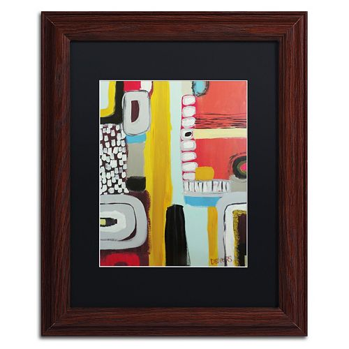 Trademark Fine Art Chemins Framed Wall Art