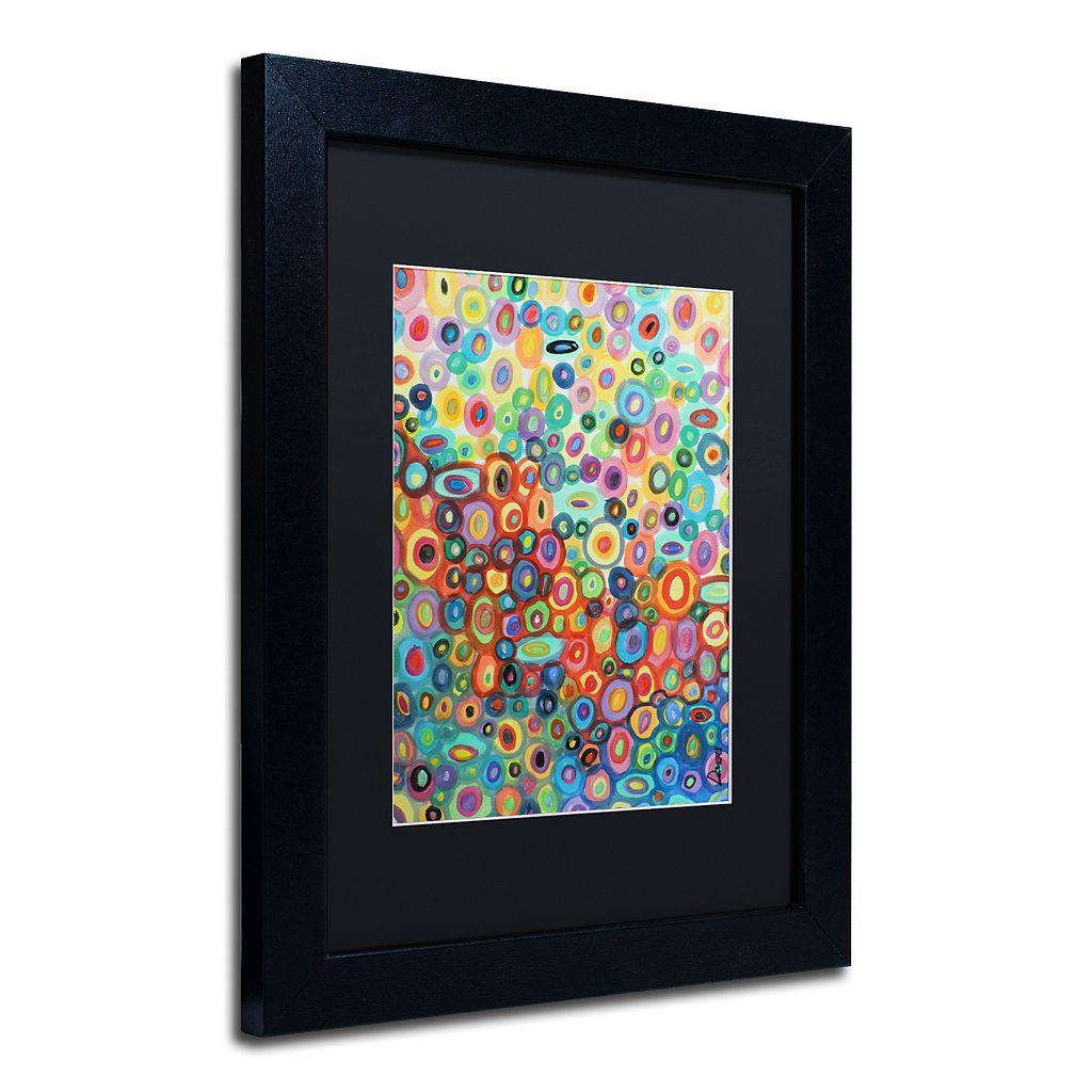Trademark Fine Art First Love Matted Framed Wall Art