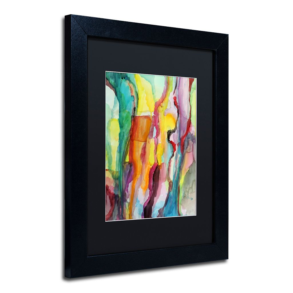 Trademark Fine Art Hiatus Matted Framed Wall Art