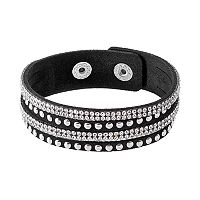 Mudd® Studded Faux Suede Slash Bracelet