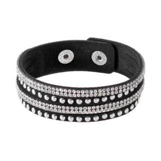 Mudd® Studded Faux Suede Slash Bracelet