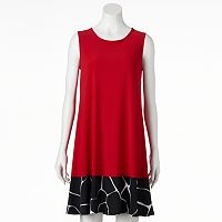 Women's MSK Contrast Shift Dress
