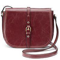 Mondani Dakota Crossbody Saddle Bag