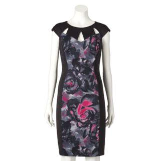 Women's Chaya Floral Colorblock Sheath Dress