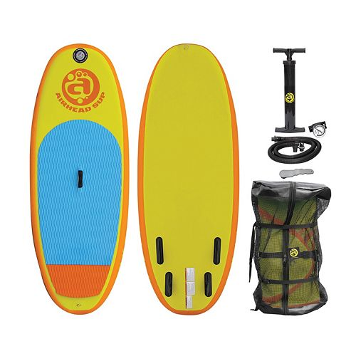 Kids Airhead Popsicle 730 Inflatable Stand-Up Paddle Board & Pump Set