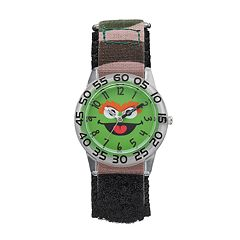 Sesame Street Oscar the Grouch Kids' Time Teacher Watch