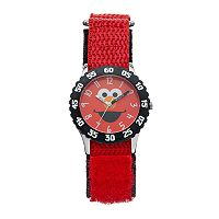 Sesame Street Elmo Kids' Red Time Teacher Watch