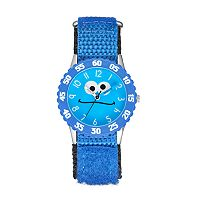 Sesame Street Cookie Monster Kids' Time Teacher Watch