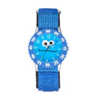Sesame Street Cookie Monster Kids' Time Teacher Watch