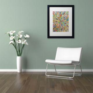 Trademark Fine Art Ma Cible Matted Framed Wall Art