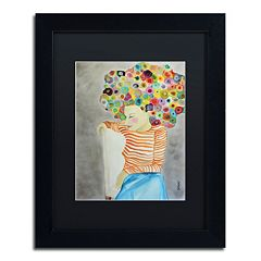 Trademark Fine Art Marion Matted Framed Wall Art