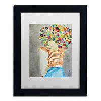 Trademark Fine Art Marion Matted Framed Wall Art