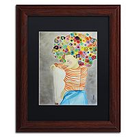 Trademark Fine Art Marion Framed Wall Art