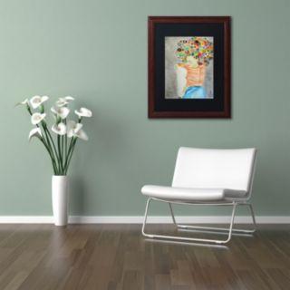Trademark Fine Art Marion Framed Wall Art