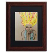 Trademark Fine Art Miss Sunshine Framed Wall Art