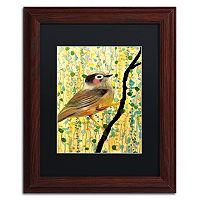 Trademark Fine Art Monsieur Matted Framed Wall Art