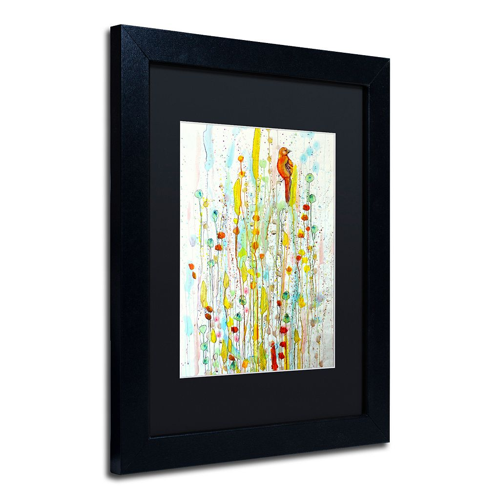 Trademark Fine Art Pause Matted Framed Wall Art