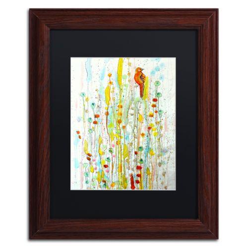 Trademark Fine Art Pause Framed Wall Art